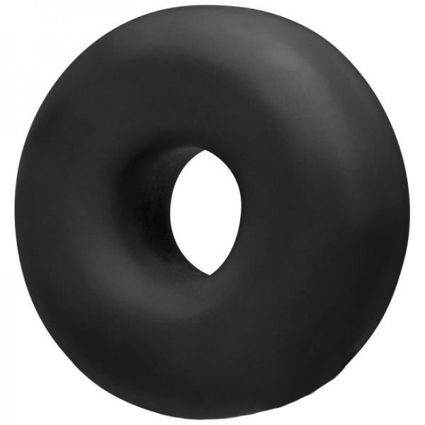 OxBalls BIG OX Super Mega Stretch Plus Silicone Cock Ring Black