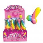 Rainbow Cock Pop Lollipop
