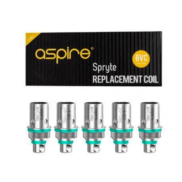 Aspire Spryte BCV Coils 1.2ohm 5 Pack
