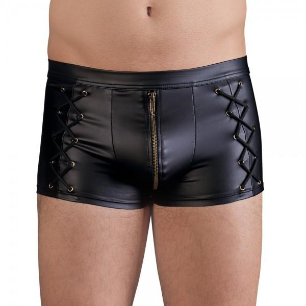 NEK Matt Black Tight Fitting Pants
