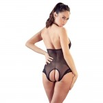 Cottelli Sheer Crotchless Body
