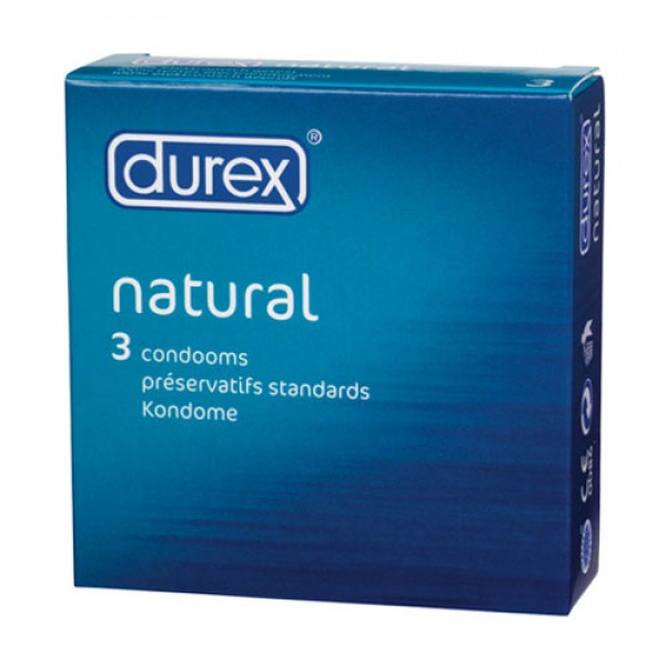 Durex Natural Condoms Pack Of 3