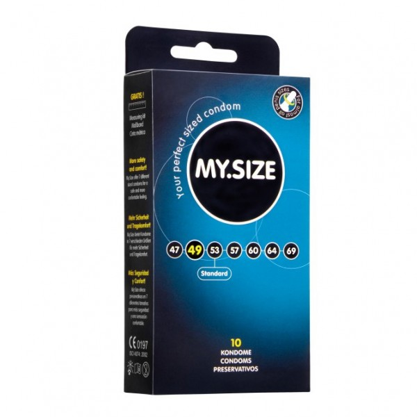 My.Size 49mm Condom Pack Of 10