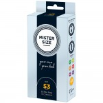 Mister Size 53mm Your Size Pure Feel Condoms 10 Pack