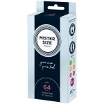 Mister Size 64mm Your Size Pure Feel Condoms 10 Pack