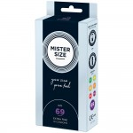 Mister Size 69mm Your Size Pure Feel Condoms 10 Pack