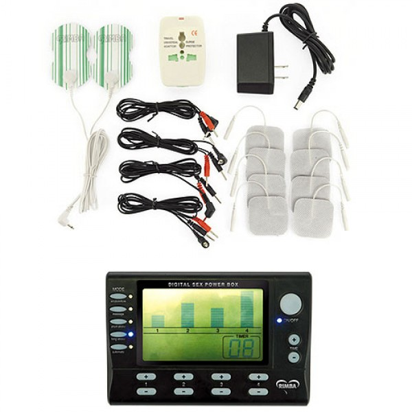 Electro Stimulation Power Box Set With LCD Display Rimba