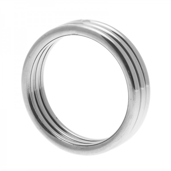 Echo Triple Cock Ring Size ML Stainless Steel