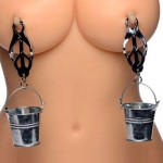 Nipple Clamps with Buckets Master Series