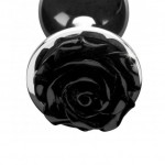 Booty Sparks Black Rose Anal Plug Medium