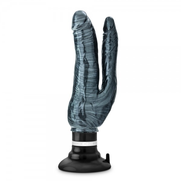 Jet Deux Noir Carbon Metallic Black Double Vibrator