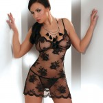 Corsetti Midori Fishnet Night Dress