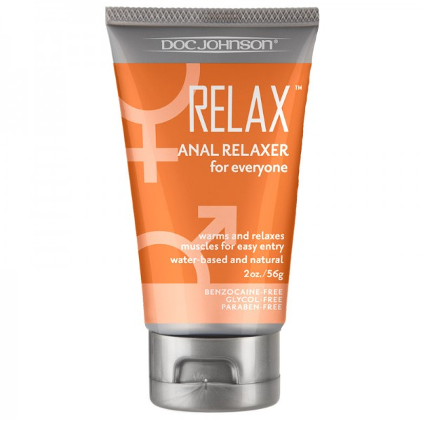 Doc Johnson RELAX Anal Relaxer Lubricant 2oz