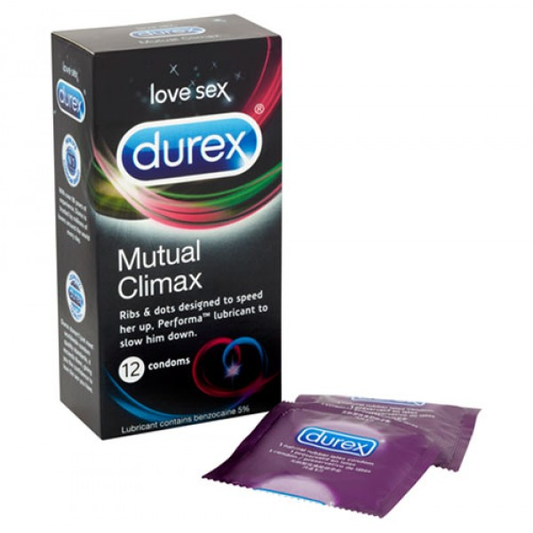 Durex Mutual Climax Condoms 12 Pack