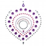 Bijoux Indscrets Flamboyant Body Jewelery Purple And Pink