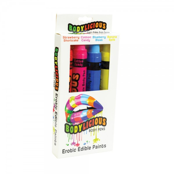 Bodylicious Erotic Edible Body Paints
