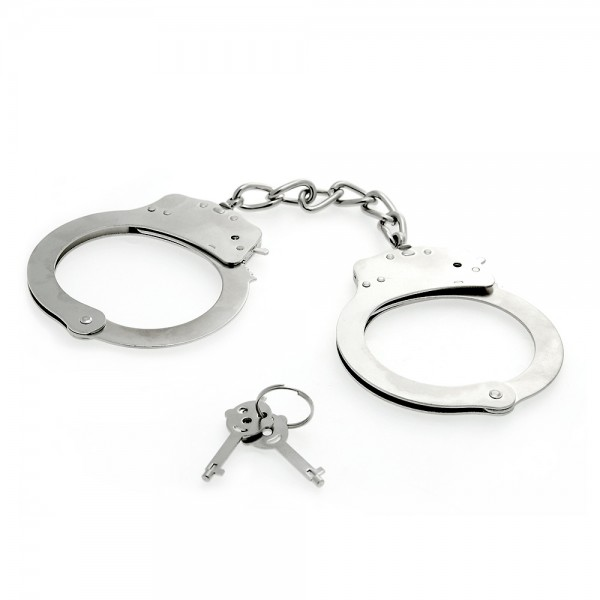 Deluxe Stainless Steel Handcuffs