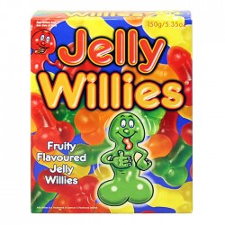 Fruit Flavoured Jelly Willies Novelty Sweet