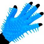 Neon Blue Luv Glove Masturbator