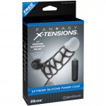 Fantasy Xtensions Silicone Extreme Power Vibrating Cock Cage