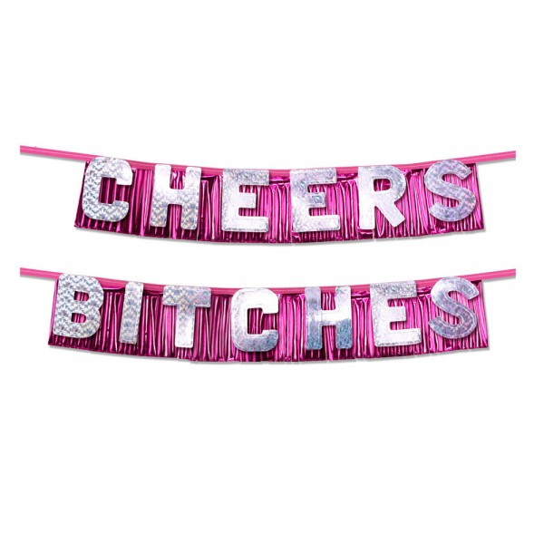 Bachelorette/Hen Party Cheers Bitches Party Banner