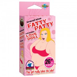 Travel Size Travel Size Fatty Patty Blow Up Doll
