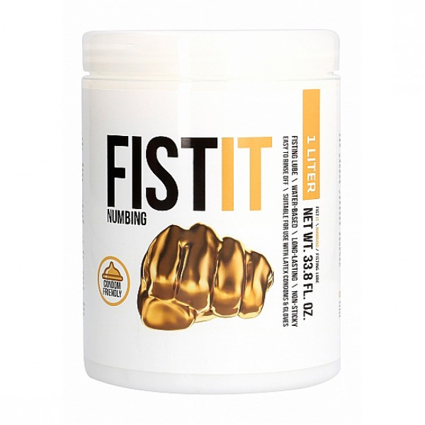 Fist It Anal Numbing Lubricant Size 1 Litre