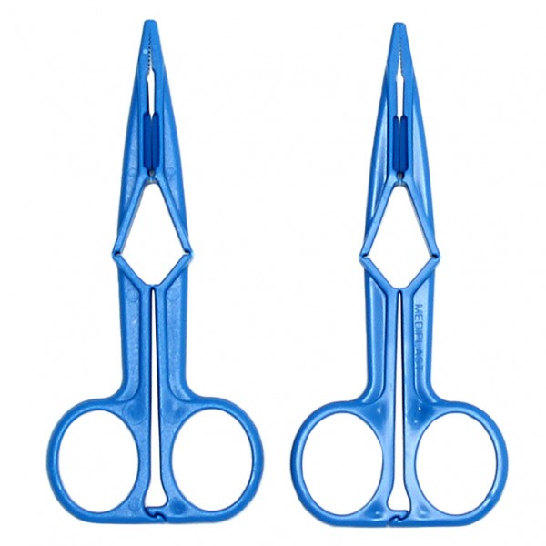 Nipple Clamps Blue Scissor Design