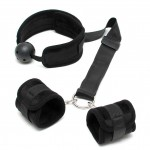 Breathable Mouth Gag With Cuffs