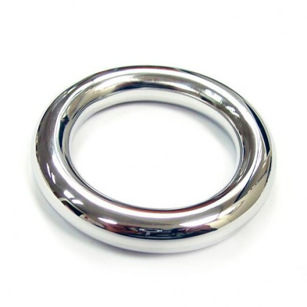 Stainless Steel Round Cock Ring 40mm By Rouge