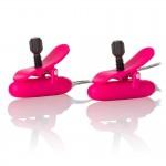 Heated Vibrating Nipple Teasers Pink