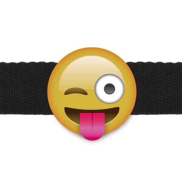 Emogag Ball Gag Wink Face Emoji
