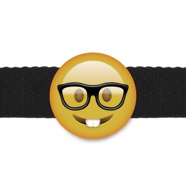 Emogag Ball Gag Nerd Face Emoji