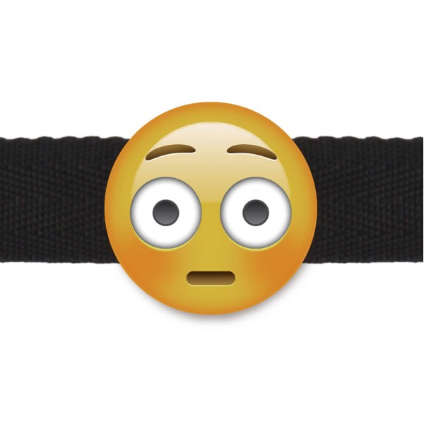 Emogag Ball Gag Shock Emoji
