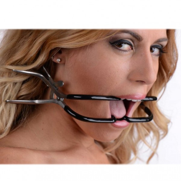 Stainless Steel Jennings Gag Rubber Coated