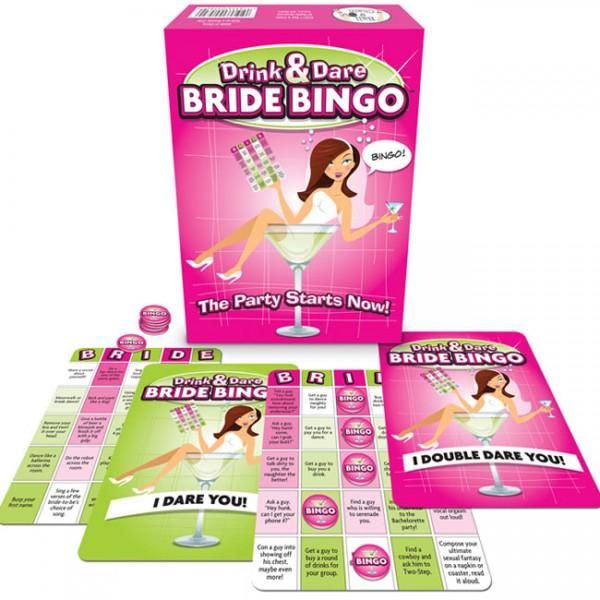 Bride Bingo Novelty Gift