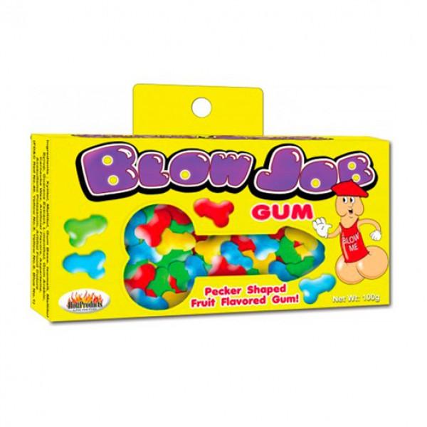 Blow Job Fruit Flavored Pecker Gum Novelty Sweet