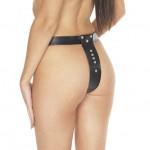 Leather Chastity belt
