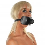 Leather Gag With Urine Tube Rimba