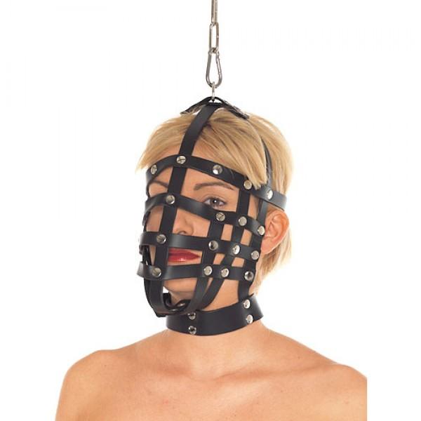 Genuine Leather Muzzle Mask