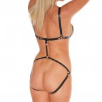 Leather Body Harness For Women